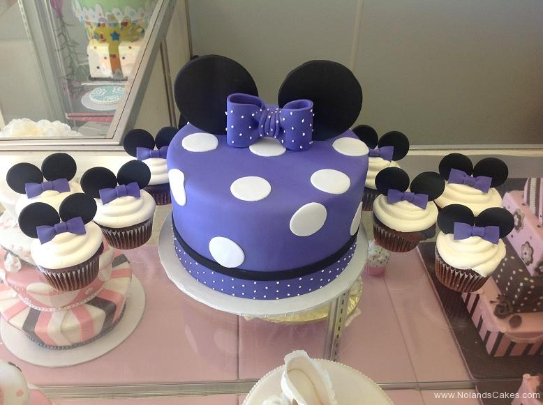 1399, birthday, minnie mouse, minnie, disney, ears, purple, dot, dots, cupcake, cupcakes