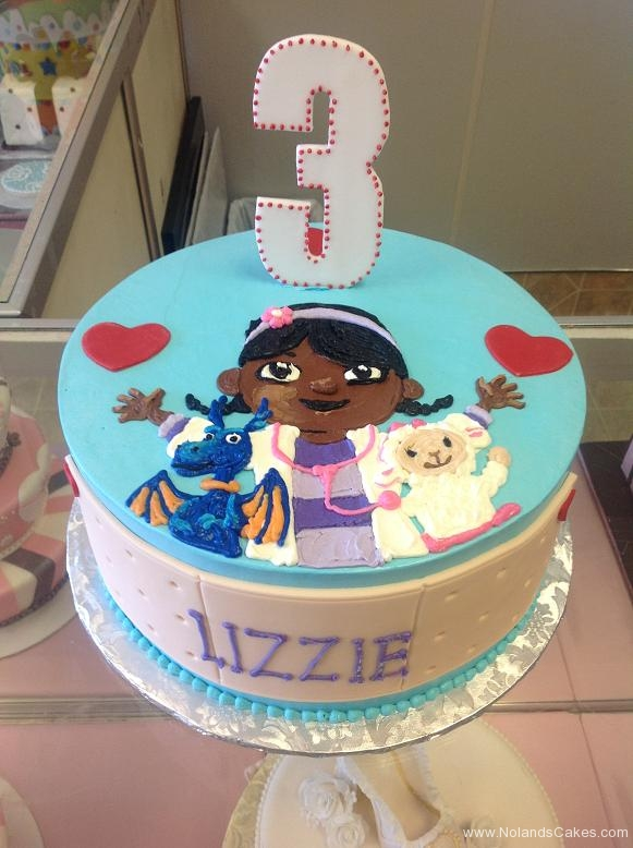 1423, third birthday, 3rd birthday, doc mcstuffins, doctor, nurse, dragon, lamb, heart, hearts, blue, purple