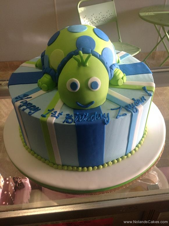 1448, 1st birthday, first birthday, turtle, stripe, stripes, blue, green