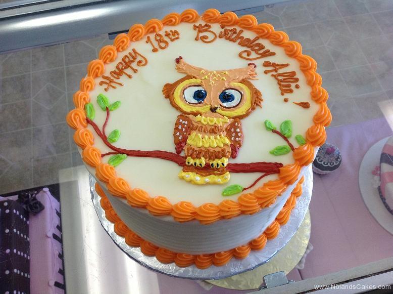 1480, 18th birthday, eighteenth birthday, owl, yellow, orange, white