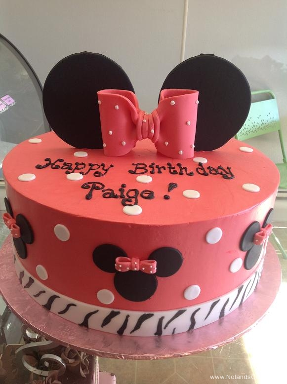 1540, birthday, minnie mouse, mickey mouse, minnie, ears, bow, dots, red, pink, bows, black, white