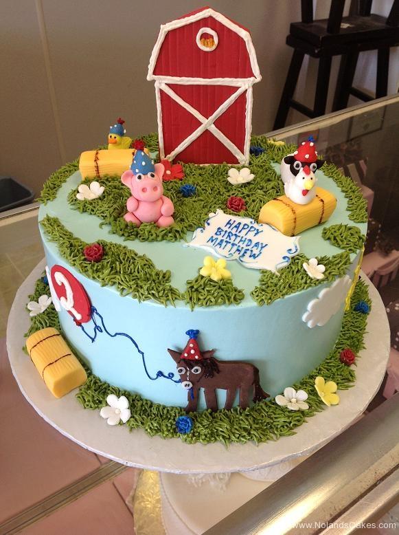 1039, second birthday, 2nd birthday, farm, farmyard, barn, barnyard, horse, chicken, pig, sheep, duck, grass, blue, red, green