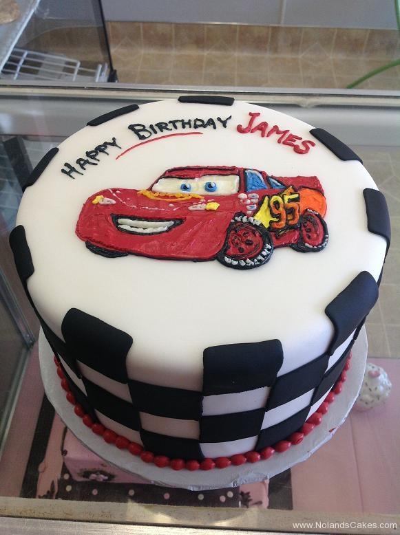 1549, birthday, car, cars, lightning mcqueen, red, black, white, race, race car
