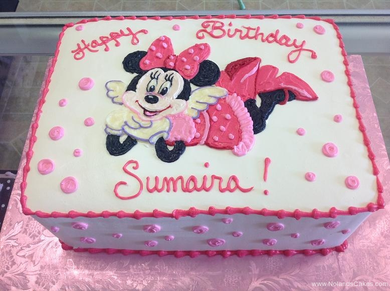 1565, birthday, disney, minnie mouse, pink, white, black, ears, dot, dots