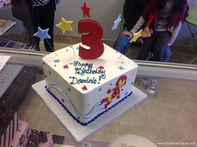 1578, 3rd birthday, third birthday, ironman, marvel, star, stars, white, blue, yellow, white