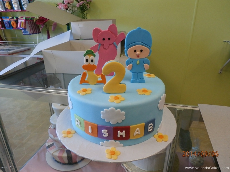 1628, second birthday, 2nd birthday, duck, duckie, elephant, baby, flower, flowers, cloud, clouds, blue, yellow