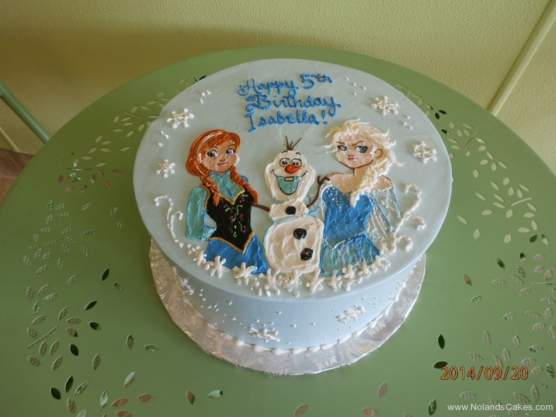 1659, fifth birthday, 5th birthday, frozen, elsa, olaf, anna, snowflake, snowflakes, ice, blue, white, disney, princess