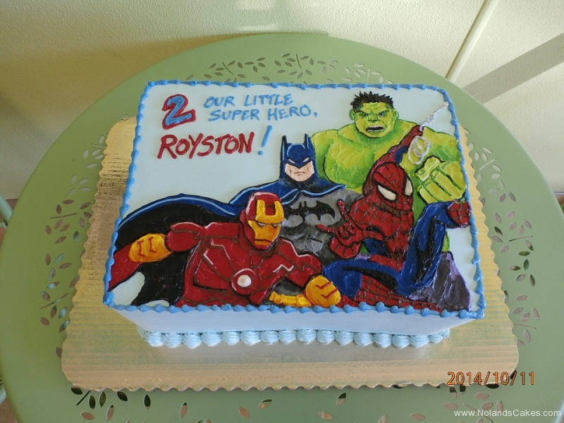 1692, second birthday, 2nd birthday, superhero, superheros, ironman, hulk, batman, spiderman, marvel, dc, white, blue, red, green