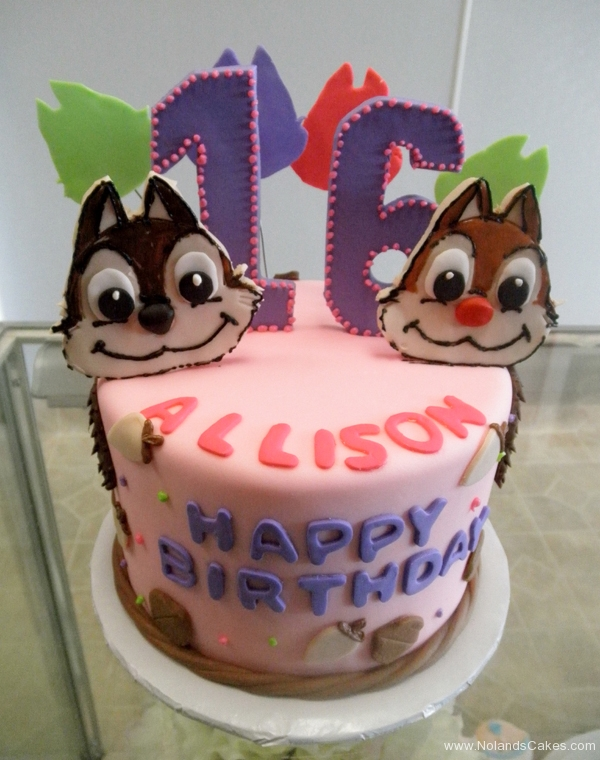 1711, 16th birthday, sixteenth birthday, chipmunk, chipmunks, squirrel, squirrels, pink, purple,