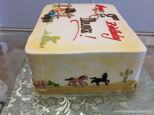 1759, 2nd birthday, second birthday, cowboy, horse, ranch, pasture, boots, hat, barn, cow, barnyard, brown, red, blue