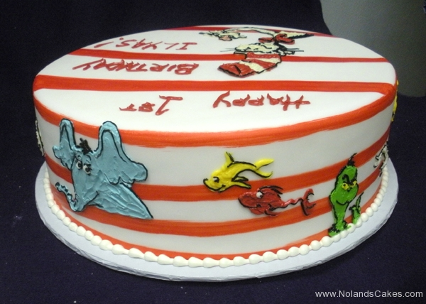 1865, birthday, dr seuss, seuss, cat in the hat, grinch, fish, horton hears a who, red, white, stripe
