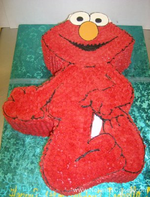 1881, birthday, elmo, sesame street, red, carved