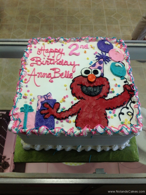 1892, second birthday, 2nd birthday, elmo, sesame street, balloon, balloons, present, presents, pink, white, purple
