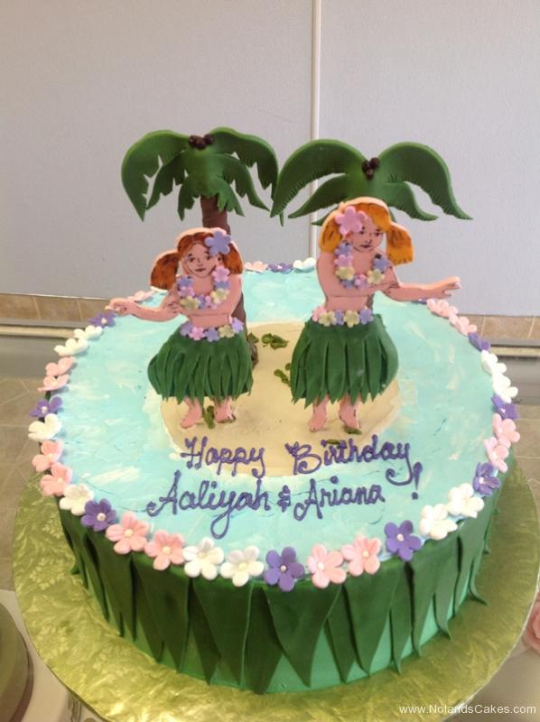 1967, birthday, hawaii, hula, sand, beach, ocean, sea, tree, trees, pal tree, skirt, flower, flowers, pink, blue, green