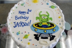 161, alien, first birthday, 1st birthday, space ship, ufo, green, blue