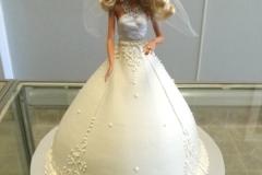 192, barbie, barbie cake, white, dress, birthday, carved