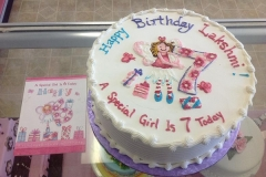 206, birthday, 7th birthday, seventh birthday, pink, purple, white, blue, flowers, butterfly, butterflies, fairy, fairies
