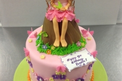224, birthday, 5th birthday, fifth birthday, carved, pink, butterfly, butterflies, purple, fairy, princess, woodland, carved