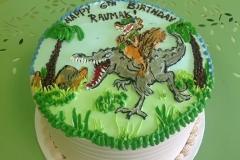 302, 6th birthday, sixth birthday, dinosaur, jurassic park, green, blue
