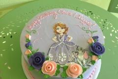 318, birthday, princess, purple, rabbit, bunny, flower, flowers, pink