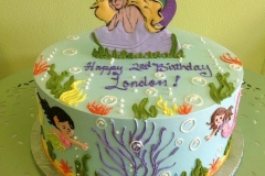426, 2nd birthday, second birthday, mermaid, ocean, sea, water, mermaids, blue