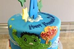 1785, 4th birthday, fourth birthday, star, stars, avengers, ironman, captain america, hulk, blue, green, red, yellow