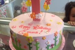 1798, first birthday, 1st birthday, flower, flowers, garden, pink, green