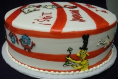 1867, birthday, dr seuss, seuss, cat in the hat, grinch, fish, horton hears a who, red, white, stripe