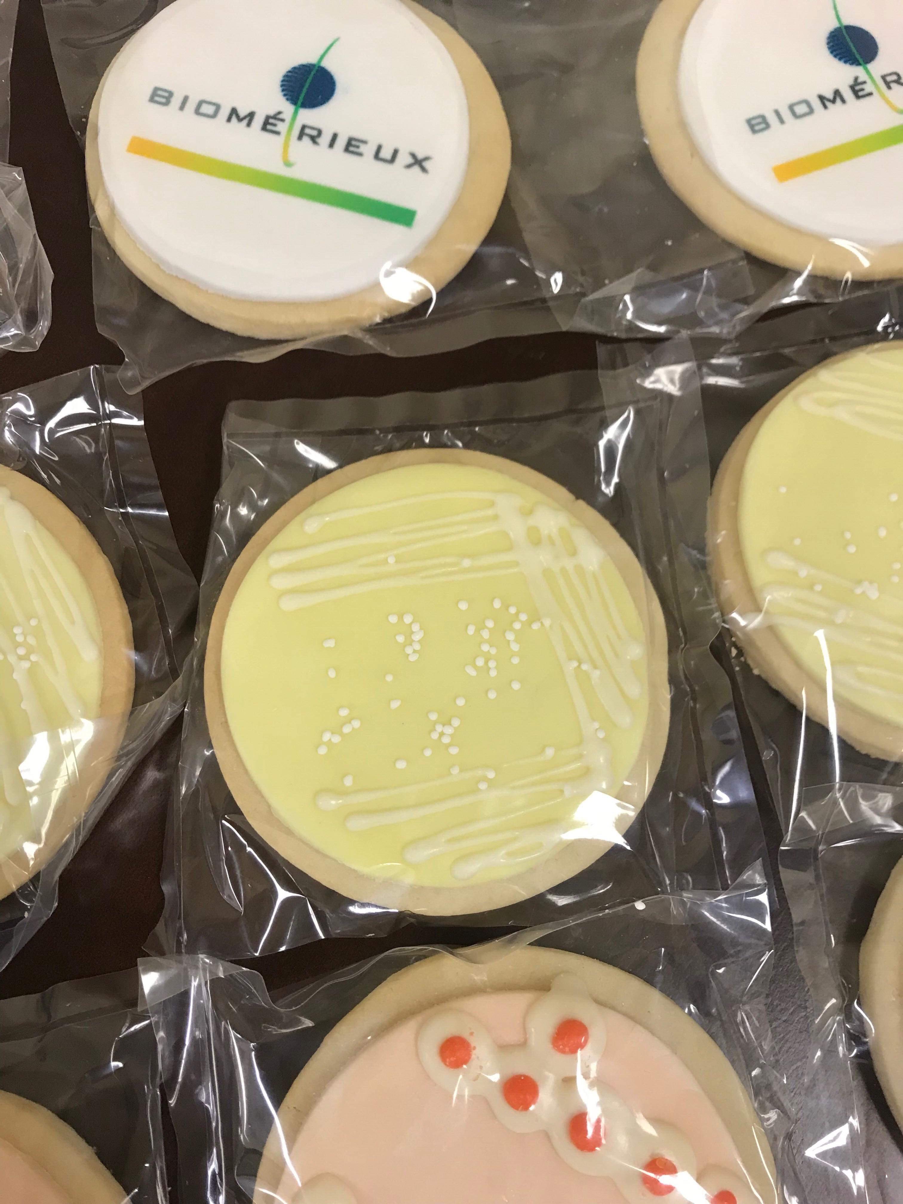 3184, cookies, round, streak plate, inoculation