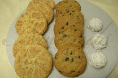 2674, snickerdoodle, chocolate chip, mexican wedding, russian tea cakes, cookies, simple, plain