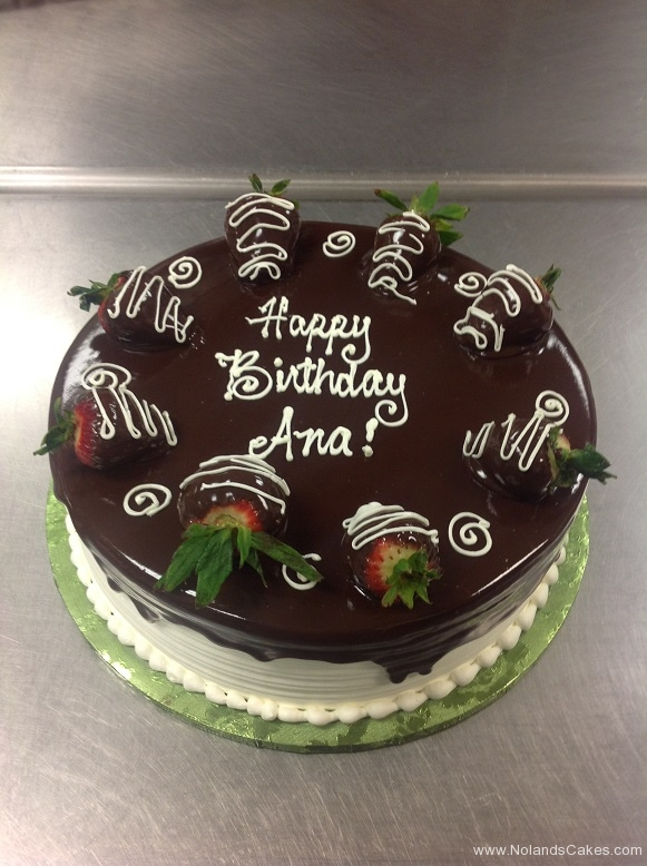 832, chocolate, glaze, brown, strawberries, white, piping, swirls