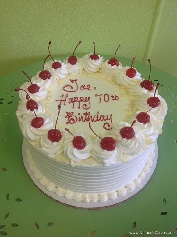 847, white, red, cherries, 70th, birthday