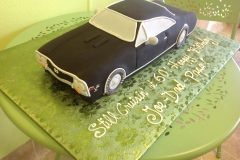 892, car, black, classic car, carved