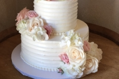 3434, wedding, flower, flowers, white,  pink, cream, tiered